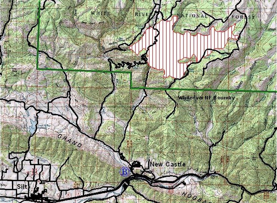 Colorado Wildfires Spring Creek Fire